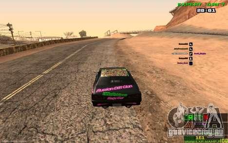Дрифт Камера для GTA San Andreas