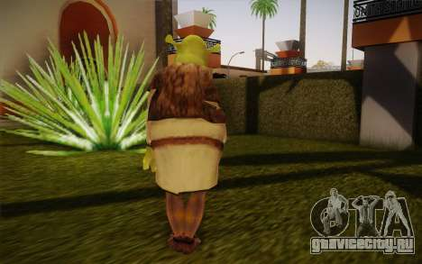 Shrek для GTA San Andreas второй скриншот