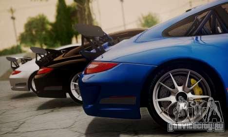 Porsche 911 GT3 RS4.0 2011 для GTA San Andreas вид сзади