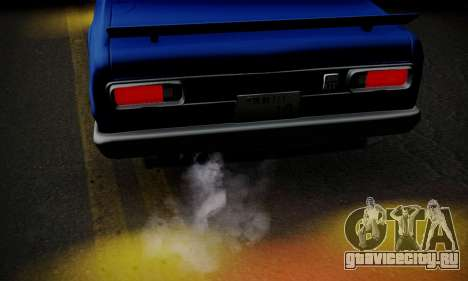 Nissan Skyline GC10 2000GT для GTA San Andreas салон