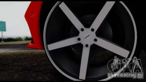 Ferrari F12 Berlinetta для GTA San Andreas вид справа