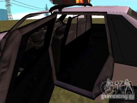 Police Original Cruiser v.4 для GTA San Andreas двигатель