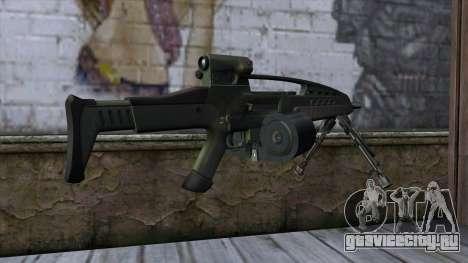 XM8 LMG Olive для GTA San Andreas второй скриншот