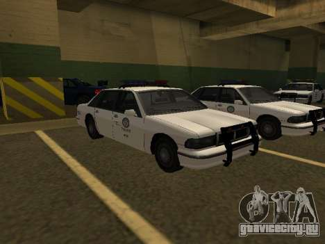 Police Original Cruiser v.4 для GTA San Andreas