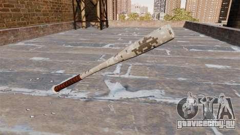 Бейсбольная бита Camo P001 для GTA 4 второй скриншот