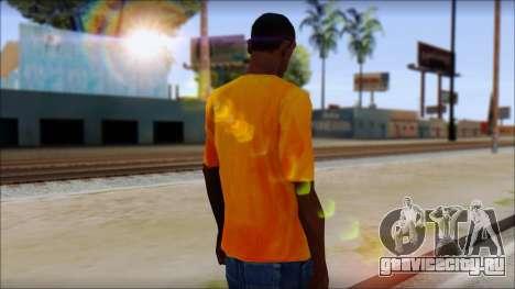 Cj Fox T-Shirt для GTA San Andreas второй скриншот