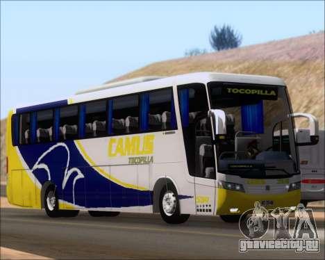 Busscar Vissta Buss LO Mercedes Benz 0-500RS для GTA San Andreas вид слева