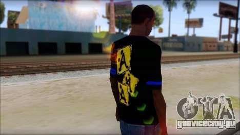 T-Shirt A-Style для GTA San Andreas второй скриншот