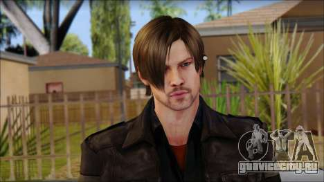 Leon Kennedy from Resident Evil 6 v2 для GTA San Andreas третий скриншот