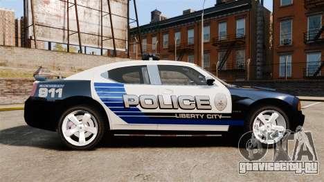Dodge Charger SRT8 2010 [ELS] для GTA 4 вид слева