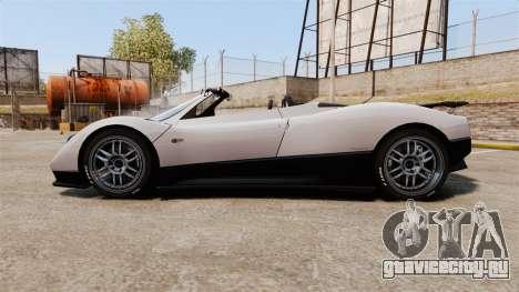 Pagani Zonda C12S Roadster 2001 v1.1 PJ2 для GTA 4 вид слева