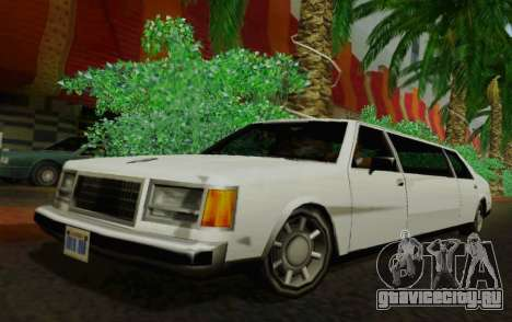 Washington Limousine для GTA San Andreas