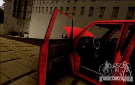 Moonbeam Stance для GTA San Andreas вид сзади