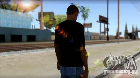 Evil T-Shirt для GTA San Andreas второй скриншот