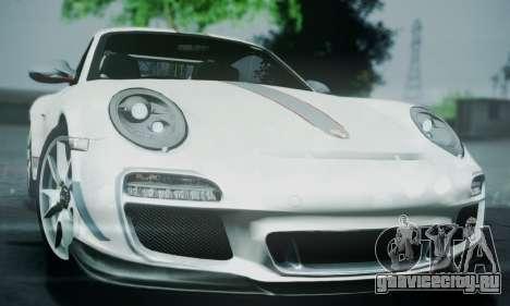 Porsche 911 GT3 RS4.0 2011 для GTA San Andreas вид сбоку