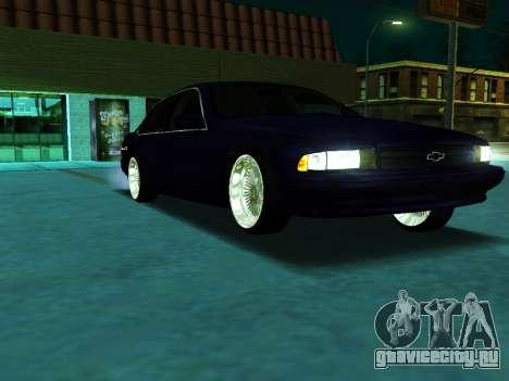 Chevrolet Impala SS 1995 для GTA San Andreas вид справа