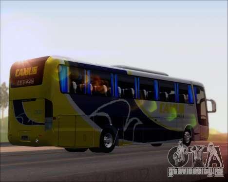 Busscar Vissta Buss LO Mercedes Benz 0-500RS для GTA San Andreas вид сзади слева