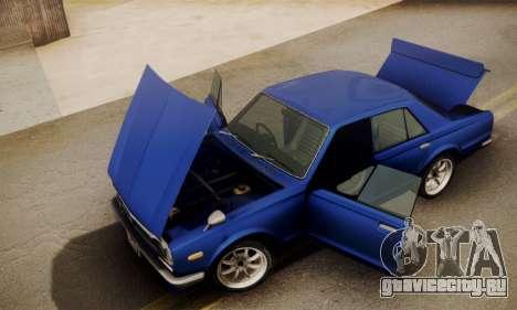 Nissan Skyline GC10 2000GT для GTA San Andreas вид справа