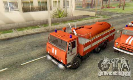КамАЗ 53212 АП-5 [IVF] для GTA San Andreas вид сзади слева
