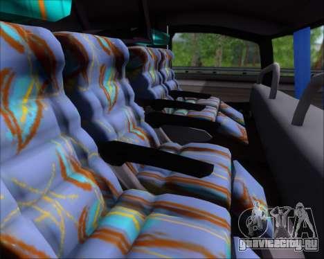 Busscar Jum Buss 400 Volvo B10R Pullman Del Sur для GTA San Andreas вид изнутри