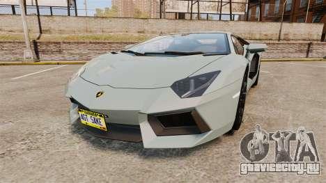 Lamborghini Aventador LP700-4 v2 [RIV] для GTA 4