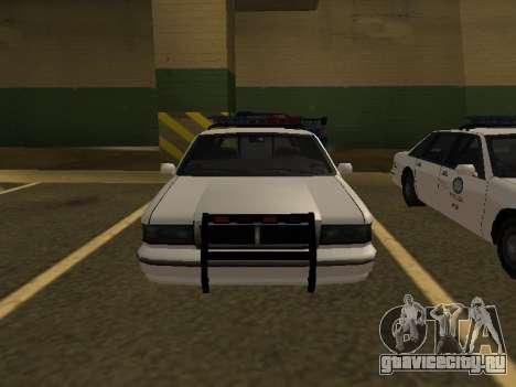 Police Original Cruiser v.4 для GTA San Andreas вид справа