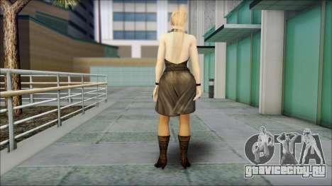 Sarah from Dead or Alive 5 v3 для GTA San Andreas второй скриншот