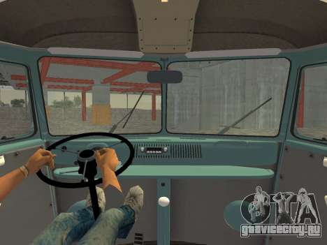 Volkswagen Type 2 T1 Van 1967 для GTA Vice City вид справа