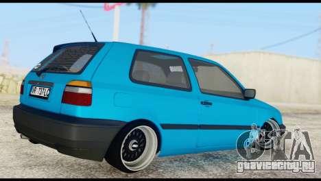 Volkswagen MK3 deLidoLu Edit для GTA San Andreas вид слева