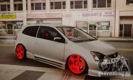 Honda Civic TypeR для GTA San Andreas