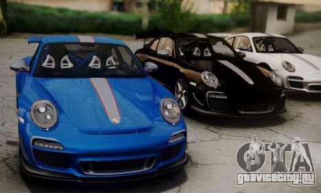 Porsche 911 GT3 RS4.0 2011 для GTA San Andreas