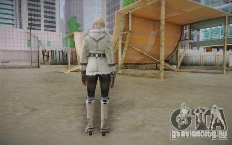 Sherry Birkin Europa from Resident Evil 6 для GTA San Andreas второй скриншот