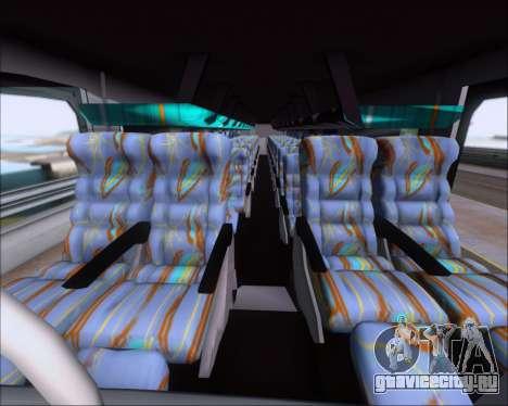 Busscar Jum Buss 400 Volvo B10R Pullman Del Sur для GTA San Andreas вид сбоку