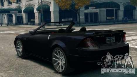 Feltzer Grey Series для GTA 4 вид слева