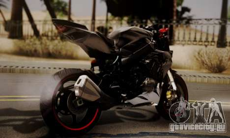 Kawasaki Z1000 2014 - The Predator для GTA San Andreas вид слева