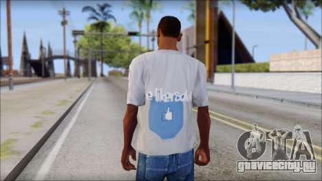 The Likersable T-Shirt для GTA San Andreas второй скриншот