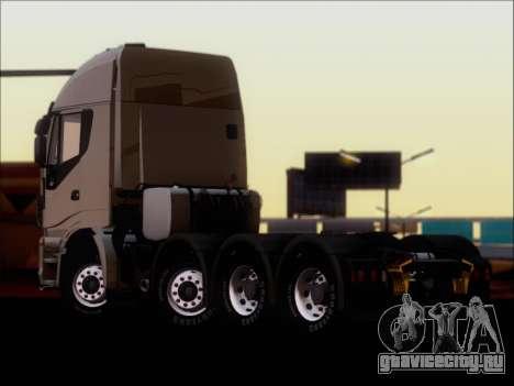 Iveco Stralis HiWay 560 E6 8x4 для GTA San Andreas вид справа