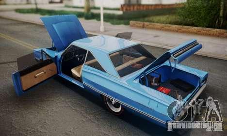 Dodge Coronet 440 Hardtop Coupe (WH23) 1967 для GTA San Andreas вид изнутри