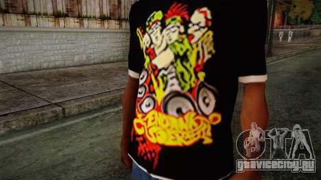Endank Soekamti T-Shirt для GTA San Andreas третий скриншот