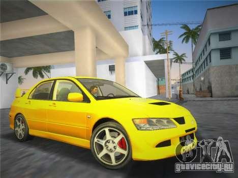 Mitsubishi Lancer Evolution 8 2004 для GTA Vice City