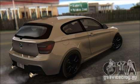BMW M135i для GTA San Andreas вид слева