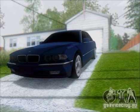 BMW 7 E38 для GTA San Andreas вид справа