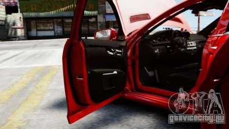 Mercedes-Benz S65 W221 AMG v1.3 для GTA 4 вид сбоку