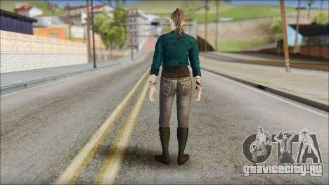 Clara Lille From Watch Dogs для GTA San Andreas второй скриншот