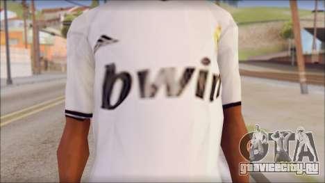 Real Madrid FC Jersey Mod для GTA San Andreas третий скриншот