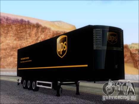Прицеп United Parcel Service для GTA San Andreas