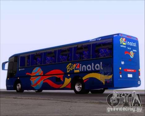 Busscar El Buss 340 Bio Linatal для GTA San Andreas вид справа