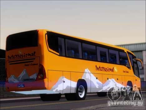 Marcopolo Viaggio 1050 G7 Buses Interregional для GTA San Andreas вид сзади слева