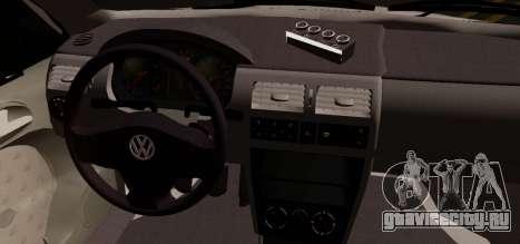 Volkswagen Golf G3 для GTA San Andreas вид сзади слева