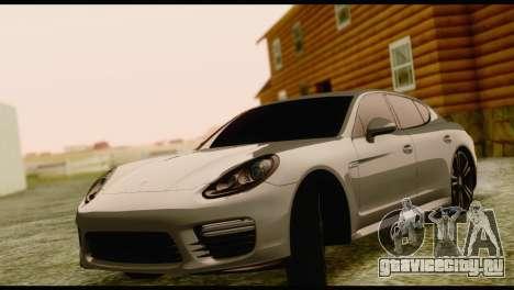 Porsche Panamera GTS для GTA San Andreas